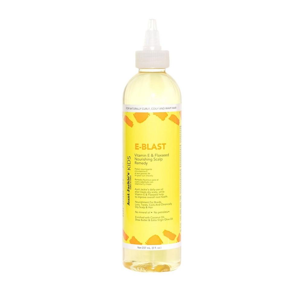Image of Aunt Jackie's Kids E-Blast Vitamin E & Flaxseed Nourishing Scalp Remedy - 8 fl oz