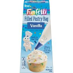 Pillsbury Funfetti Vanilla Filled Pastry Bag - 15.6oz