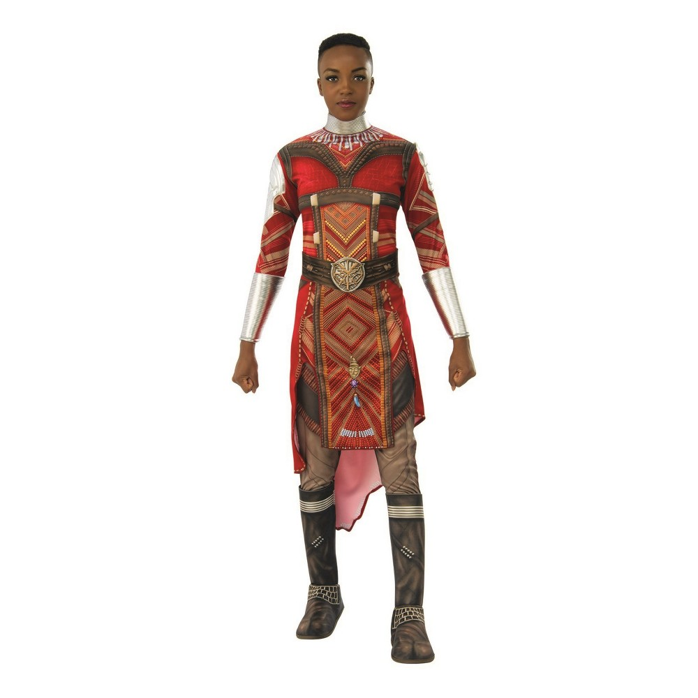 Women's Black Panther Dora Milaje Halloween Costume XS/S, Red