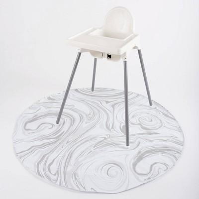 BooginHead Protector SplatMat Baby Floor Mat - Marble Swirl