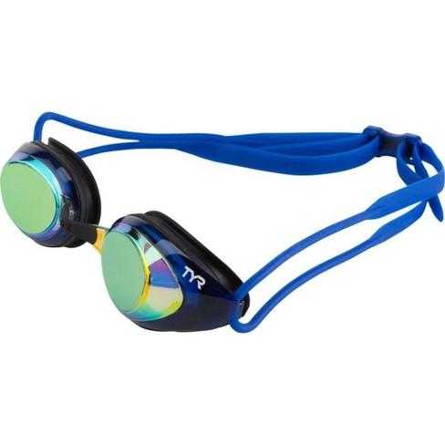 TYR Black Hawk Racing Polarized Goggle Gold Lens, Black Gasket, Navy Frame - image 1 of 1