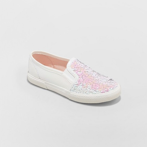 9d284684d24 Girls  Moreen Flip Sequin Sneakers - Cat   Jack™ Pink   Target