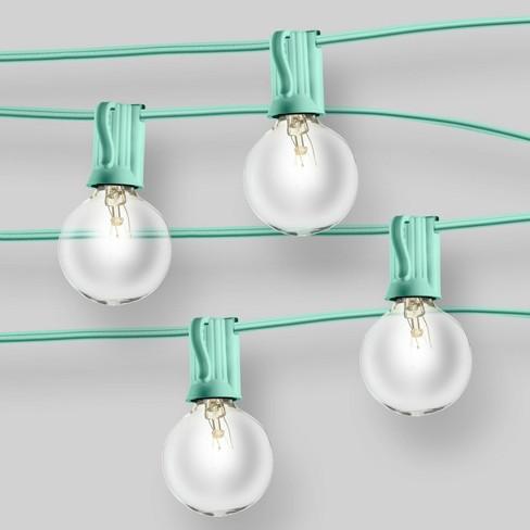 clear globe lights mint room essentials target