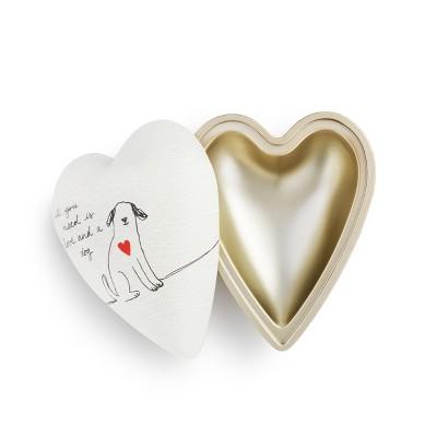 DEMDACO Dog Love Art Heart Keeper