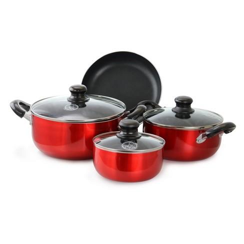 Better Chef 7 Piece Non Stick Cookware Set Target