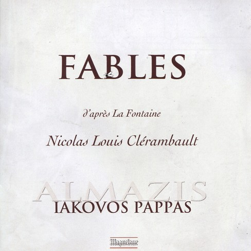 Iakovos pappas - Clerambault:Fables (CD) - image 1 of 1