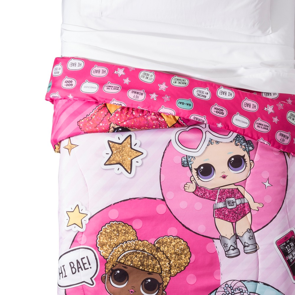 Image of L.O.L. Surprise! Twin Glitterful Comforter