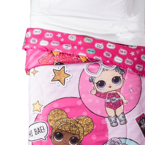 L.O.L. Surprise! Twin Glitterful Comforter - image 1 of 4