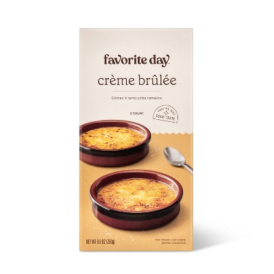 Frozen Crème Brulee - 8.4oz/2ct - Favorite Day™