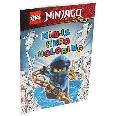 Lego(r) Ninjago(r): Ninja Hero Coloring - (Coloring Books) (Paperback) :  Target