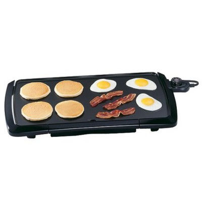 Presto® Cool Touch Griddle - - 07030 Black