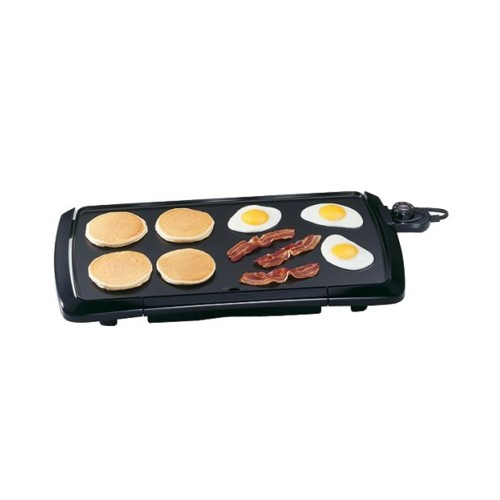 Presto Cool Touch Griddle - 07030 Black