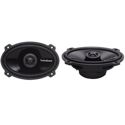 "Rockford Fosgate P1462 4x6"" 140W 2-Way Full Range Punch Car Audio Speakers, Pair"