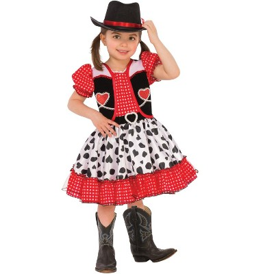 Rubies Cowgirl Toddler/Child Costume