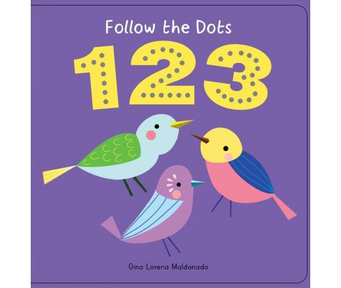 1 2 3 -  BRDBK (Follow the Dots) (Hardcover) - image 1 of 1