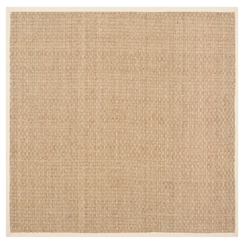 Natural Fiber Rug - Natural/Beige - (6'x6' Square) - Safavieh