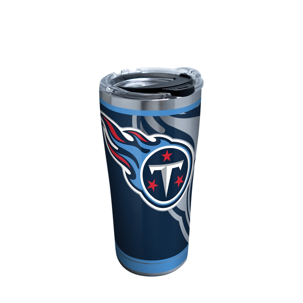 Tervis NFL Tennessee Titans Rush 20oz Stainless Steel Tumbler with lid