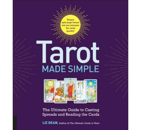 Tarot Made Simple : The Ultimate Guide to Casting Spreads and Reading the Cards -  (Hardcover) - image 1 of 1