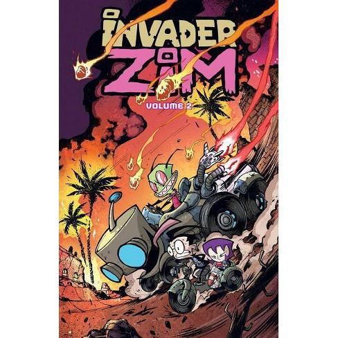 Invader Zim, Volume 2 - by  Jhonen Vasquez & Eric Trueheart (Paperback) - image 1 of 1