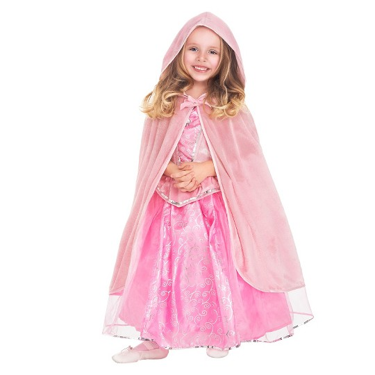 Little Adventures Girls' Cloak - Pink S/M, Size: Small/Medium, Red image number null