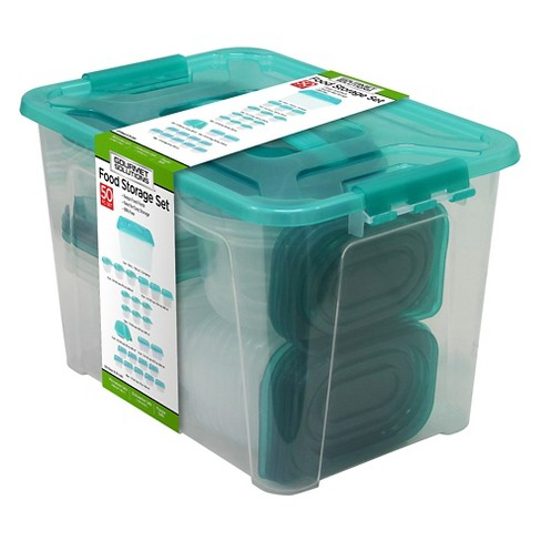 Gourmet Solutions 50pc Food Storage Set with Tote - Up&Up™ - image 1 of 1