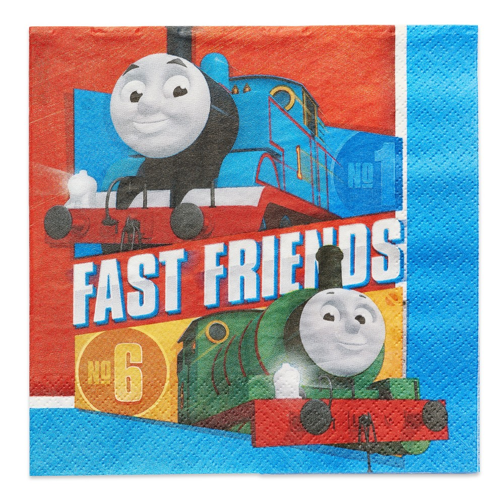 Image of 16ct Thomas & Friends Lunch Napkin, Multi-Colored