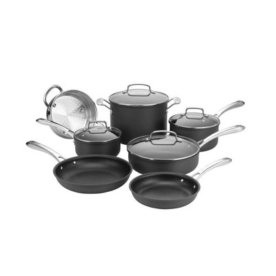 Cuisinart Classic 11pc Hard Anodized Cookware Set - 63-11