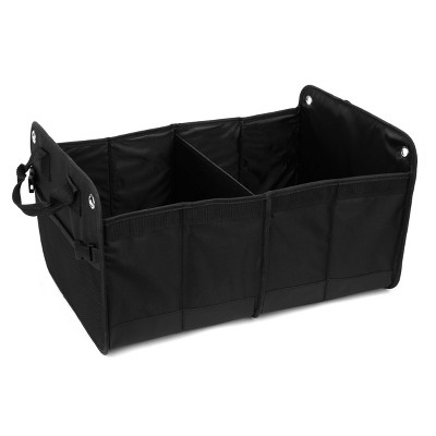 Turtle Wax 2 Section Trunk Organizer Heavy Duty
