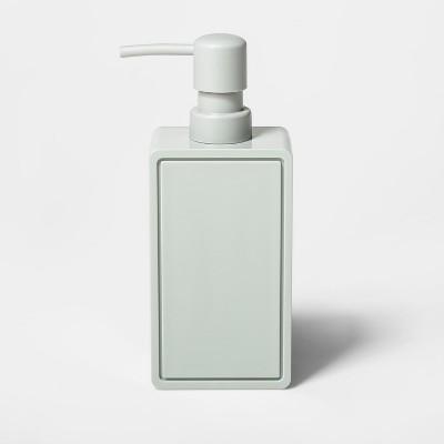 Rectangle Soap/lotion Dispenser Gray - Room Essentials™
