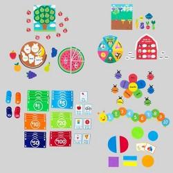 119pc Felt Money & Learning Kits - Bullseye's Playground™