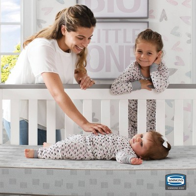 Beautyrest Silver Slumbertime Crib and Toddler Mattress
