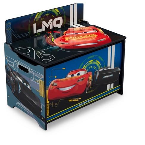Delta Children Disney/Pixar Cars Deluxe Toy Box : Target