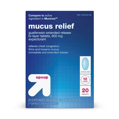 Mucus Relief Extended Release Tablets - up & up™