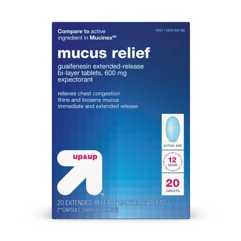Mucus Relief Extended Release Tablets - Up&Up™ - image 1 of 4
