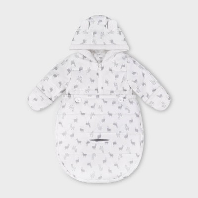 Baby Llama Convertible Pram Bag - Just One You® made by carter's Ivory One Size