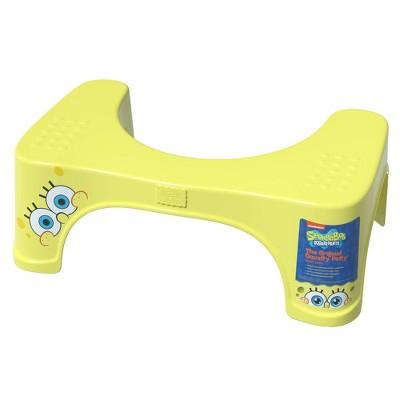 SpongeBob SquarePants Toilet Stool Yellow - Squatty Potty