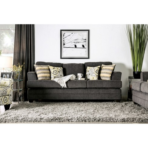 Sofas Dark Gray Homes Inside Out