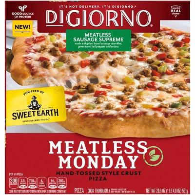 DiGiorno Meatless Sausage Supreme Frozen Pizza - 20.8oz