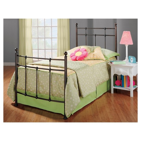 Providence Bed with Rails - Antique Bronze (Twin) - Hillsdale Furniture - image 1 of 1
