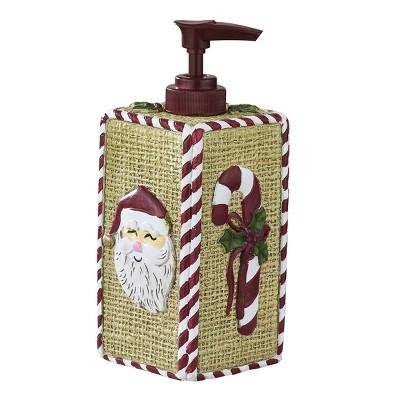Park Designs Christmas Sampler Dispenser - Red