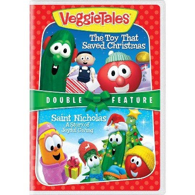 Veggie Tales: The Toy That Saved Christmas / St. Nicholas (DVD)(2018)