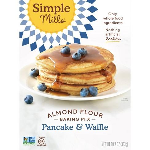 Simple Mills Gluten Free Pancake & Waffle Almond Flour Mix 10.7 oz - image 1 of 4