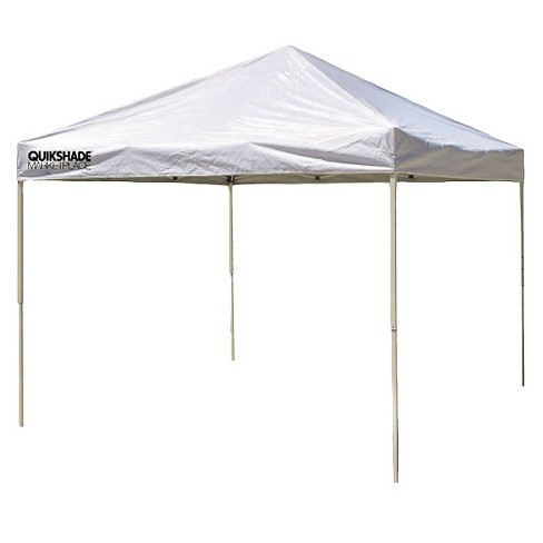 Quik Shade Marketplace Mp100 10x10 Instant Canopy White Target
