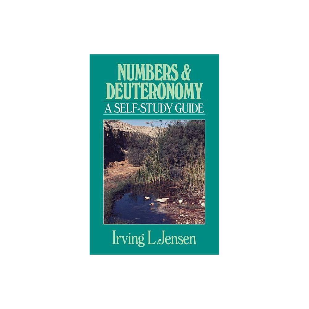 Numbers Deuteronomy Jensen Bible Self Study Guide By Irving L Jensen Paperback