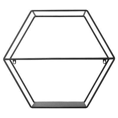 Hexagon Shelf Black - Project 62™