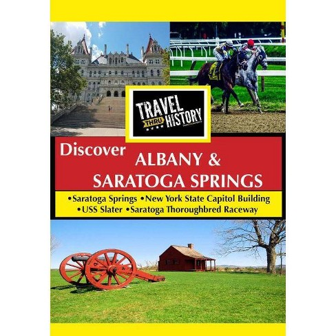 Travel Thru History: Albany & Saratoga (DVD) - image 1 of 1