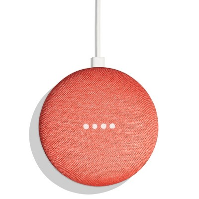 Google Home Mini Smart Speaker with Google Assistant - Coral (5163935)