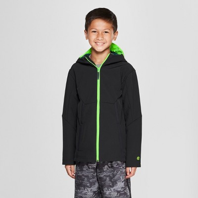 8da056fc92f4 Boys  Hooded Brim Softshell Jacket - C9 Champion® Black