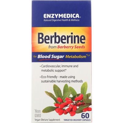 Enzymedica Herbal Supplements Berberine 500 mg Capsule 60ct