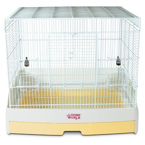 Living World Sol Bird Cage - White - 20.3''x7.7''x25.3'' - image 1 of 1